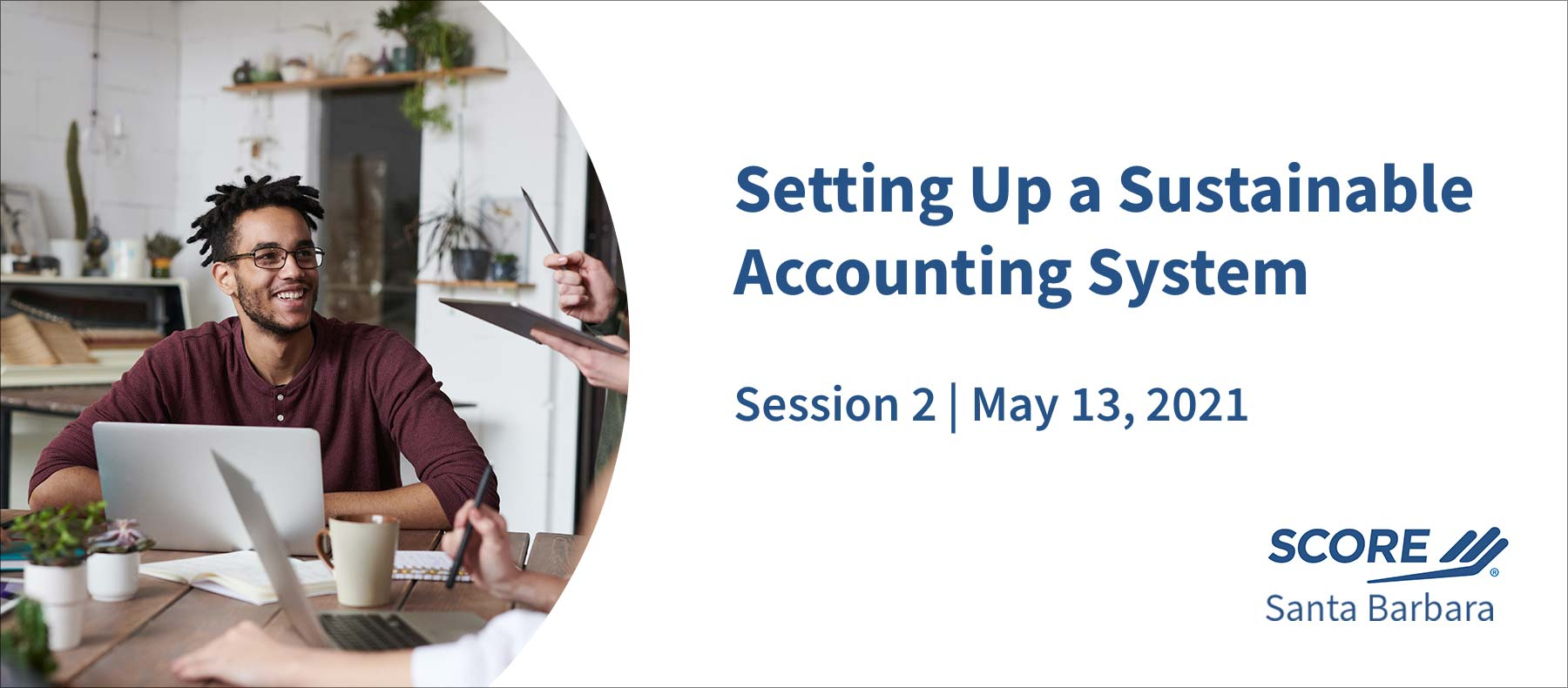 SCORE setting up accounting system session 2