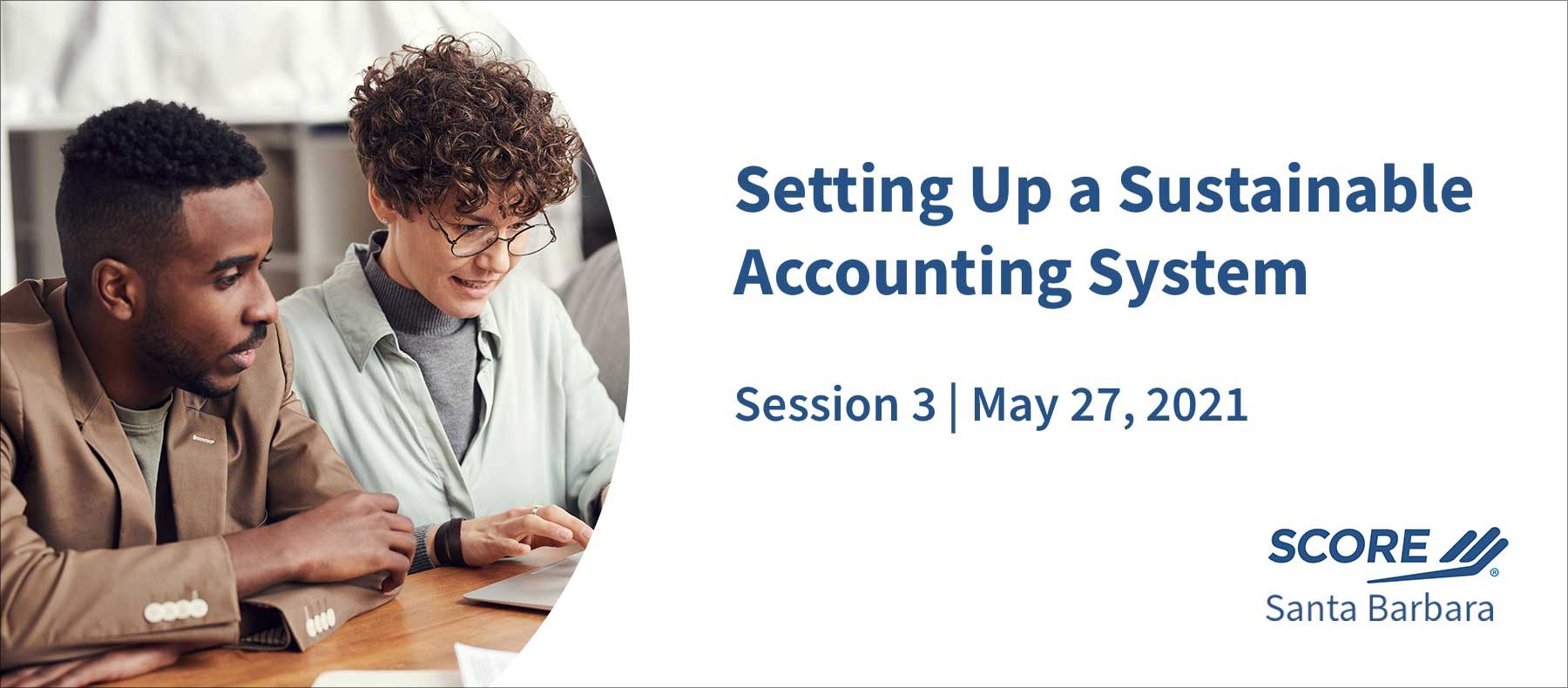 SCORE setting up accounting system session 3